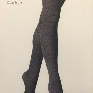 Opaque Stockings Tights A New Day Black Cheetah